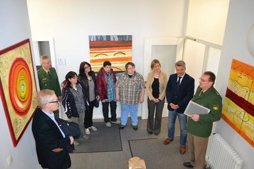 a Bilderausstellung in PI Heilsbronn 009