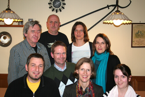 a Gründungsversammlung Vorstandschaft