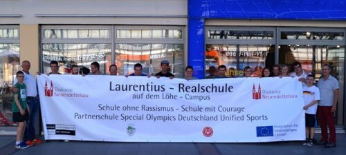 Team Special Olympics Unified Basketball Deutschland
