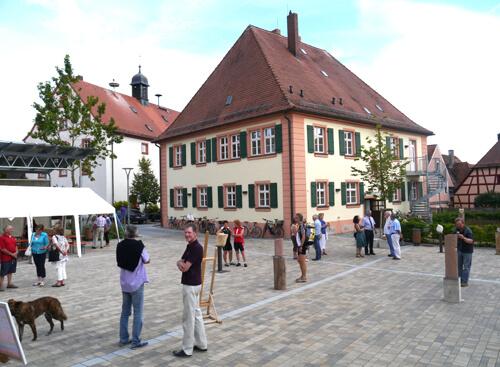 a Vernissage im Stadthof
