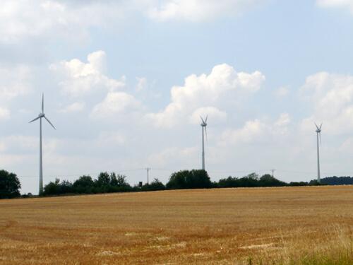 a Windkraftanlagen Wolframs-Eschenbach