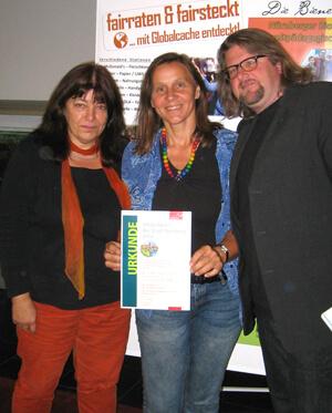 a Verleihung des Nürnberger Umweltpreises 2014