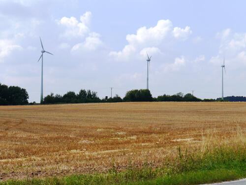 a Windräder Wolframs-Eschenbach