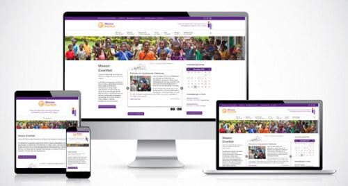 Neue Homepage Mission EineWelt