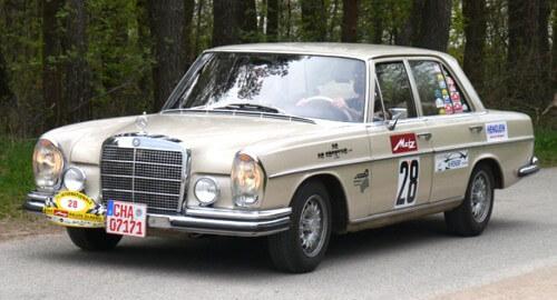 a Mercedes-Benz 280 SE