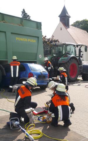 a Verkehrsunfall