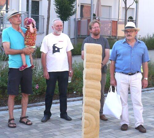a 2. Bgm. Herbert Argmann (rechts) mit Kursleitern