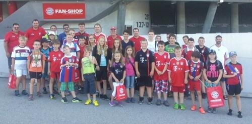 a FC Bayern Allianz Tour