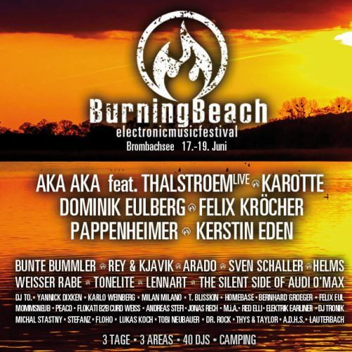 Burning Beach Festival 2016 Lineup